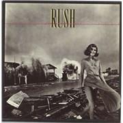 Rush Permanent Waves vinyl LP PORTUGAL