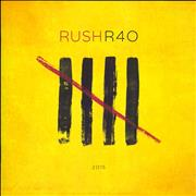 Rush R40 tour programme CANADA