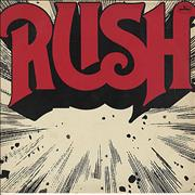Rush Rush vinyl LP BRAZIL