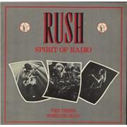 Rush Spirit Of Radio - EX 12