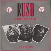 Rush The Spirit Of Radio - P/S 7