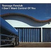 Teenage Fanclub I Dont Want Control Of You 2-CD single set UNITED KINGDOM