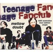 Teenage Fanclub Mellow Doubt - Australian Tour Edition CD single AUSTRALIA