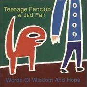 Teenage Fanclub Words of Wisdom and Hope CD album UNITED KINGDOM