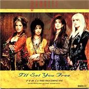The Bangles I'll Set You Free CD single UNITED KINGDOM