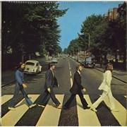 The Beatles Abbey Road - 1st - M/A - VG- vinyl LP UNITED KINGDOM