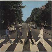 The Beatles Abbey Road - 2nd - EX/VG vinyl LP UNITED KINGDOM