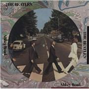 The Beatles Abbey Road - Deletion Cut picture disc LP USA