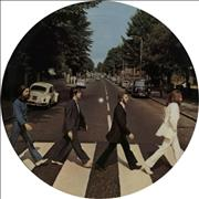 The Beatles Abbey Road - Deletion Mark picture disc LP USA