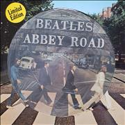 The Beatles Abbey Road - EX picture disc LP NETHERLANDS