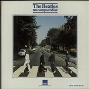 The Beatles Abbey Road - VG cd album box set UNITED KINGDOM