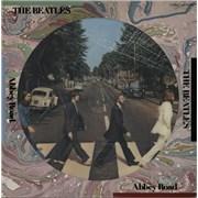 The Beatles Abbey Road picture disc LP JAPAN