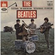 The Beatles Les Beatles Volume 4 EP 7
