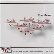 The Dears Instant Live - North American Tour Set 6-CD set USA