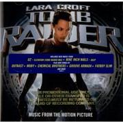 U2 Tomb Raider Soundtrack CD album USA
