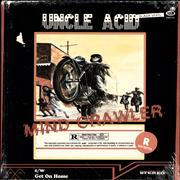 Uncle Acid & The Deadbeats Mind Crawler - 1st - Black Vinyl - Sealed 7