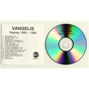Vangelis Reprise 1990 - 1999 CD-R acetate UNITED KINGDOM