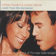 Whitney Houston Could I Have This Kiss Forever CD single EUROPE