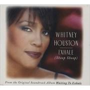 Whitney Houston Exhale (Shoop Shoop) CD single UNITED KINGDOM