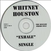 Whitney Houston Exhale CD single UNITED KINGDOM