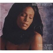 Whitney Houston I Will Always Love You CD single UNITED KINGDOM