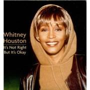 Whitney Houston It's Not Right But It's Ok CD single UNITED KINGDOM