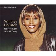 Whitney Houston It's Not Right But It's Okay - CD1 CD single UNITED KINGDOM