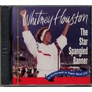 Whitney Houston The Star Spangled Banner CD single USA