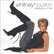 Whitney Houston Whatchulookinat? - The Hot Remix CD-R acetate UNITED KINGDOM