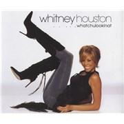 Whitney Houston Whatchulookinat CD single UNITED KINGDOM