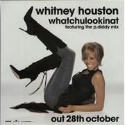Whitney Houston Whatchulookinat display UNITED KINGDOM