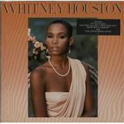 Whitney Houston Whitney Houston - hype stickered vinyl LP GERMANY