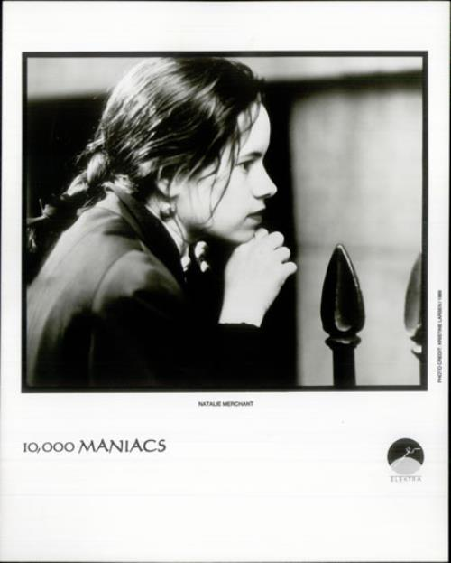 10,000 Maniacs Blind Man's Zoo media press pack US 100PPBL521644