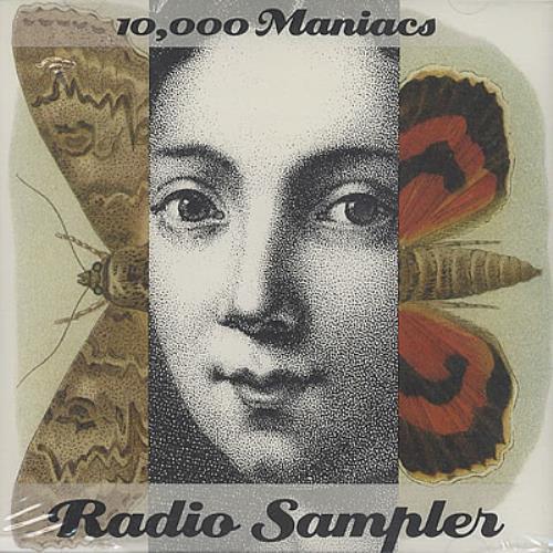 "10,000 Maniacs Radio Sampler CD single (CD5 / 5"") US 100C5RA95665"