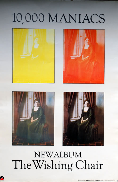 10,000 Maniacs The Wishing Chair poster UK 100POTH590277