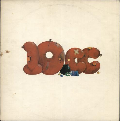 10cc 10cc + insert vinyl LP album (LP record) UK 10CLPCC238606