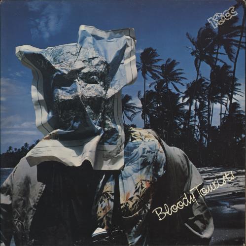 10cc Bloody Tourists vinyl LP album (LP record) UK 10CLPBL171444