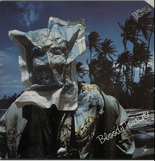 10cc Bloody Tourists vinyl LP album (LP record) US 10CLPBL632370