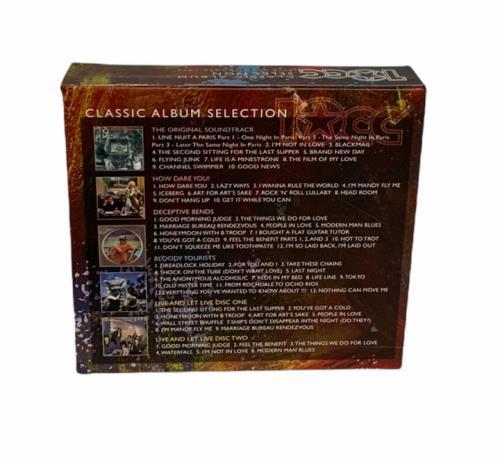 10cc Classic Album Selection 6-CD album set UK 10C6CCL776323