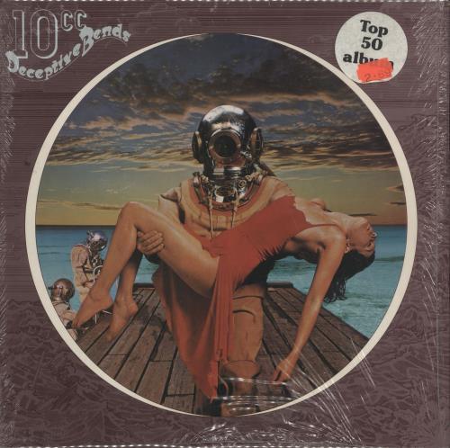 10cc Deceptive Bends - shrink vinyl LP album (LP record) UK 10CLPDE729063