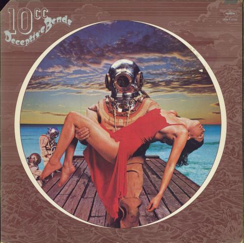 10cc Deceptive Bends vinyl LP album (LP record) US 10CLPDE427028