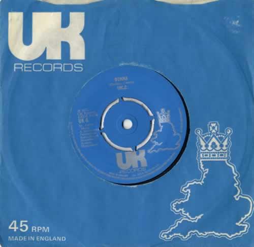 "10cc Donna 7"" vinyl single (7 inch record) UK 10C07DO556398"