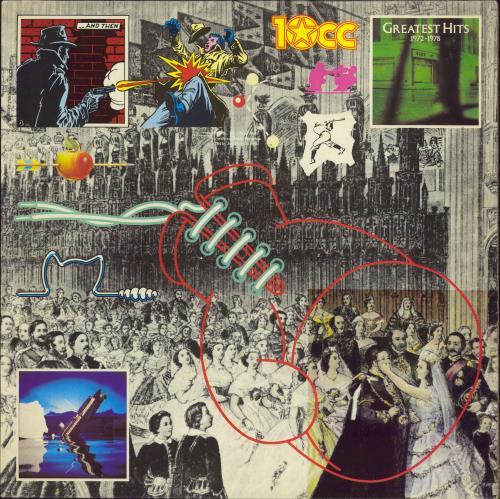 10cc Greatest Hits 1972-1978 - Promo vinyl LP album (LP record) UK 10CLPGR774112