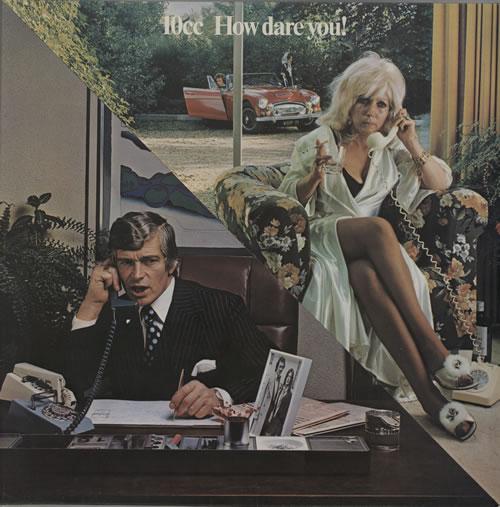 10cc How Dare You! vinyl LP album (LP record) UK 10CLPHO171426