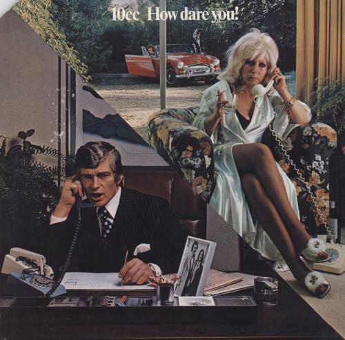 10cc How Dare You! vinyl LP album (LP record) US 10CLPHO522406
