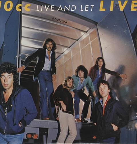 10cc Live And Let Live - EX 2-LP vinyl record set (Double Album) UK 10C2LLI171428