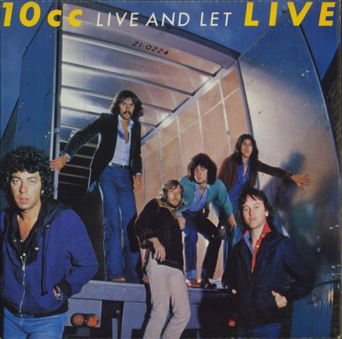 10cc Live And Let Live 2-LP vinyl record set (Double Album) UK 10C2LLI673495