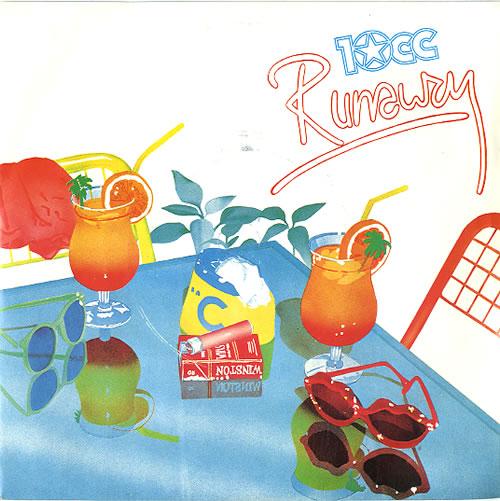 """10cc Runaway 7"""" vinyl single (7 inch record) UK 10C07RU98182"""