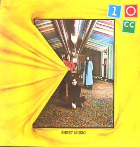 10cc Sheet Music vinyl LP album (LP record) UK 10CLPSH238570