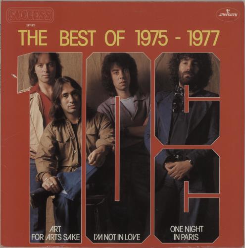 10cc The Best Of 1975 - 1977 vinyl LP album (LP record) Dutch 10CLPTH686391
